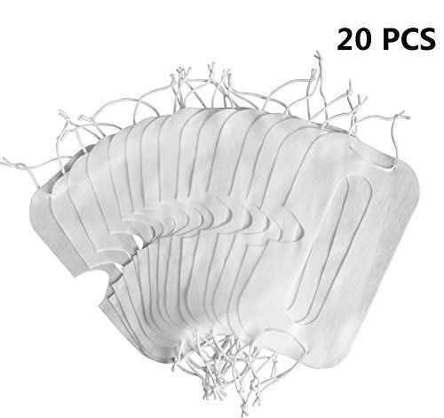 (MDW 20 Pcs Disposable Facial Mask for HTC VIVE / PS VR / GEAR VR / OCULUS RIFT / VR Headset (Type D)) Buy-Accessories.net