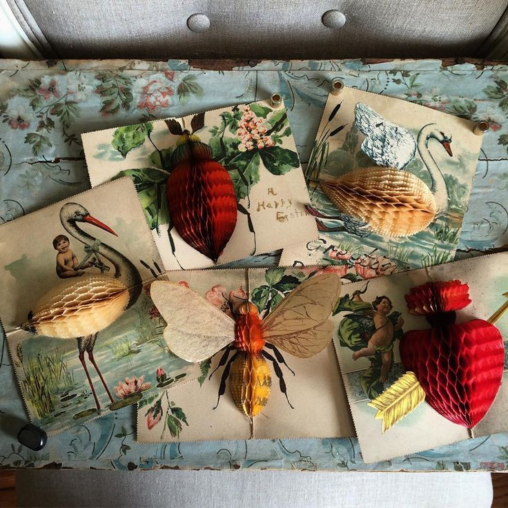 I collect paper...old paper so for #magpiemonday I am sharing my honeycomb…