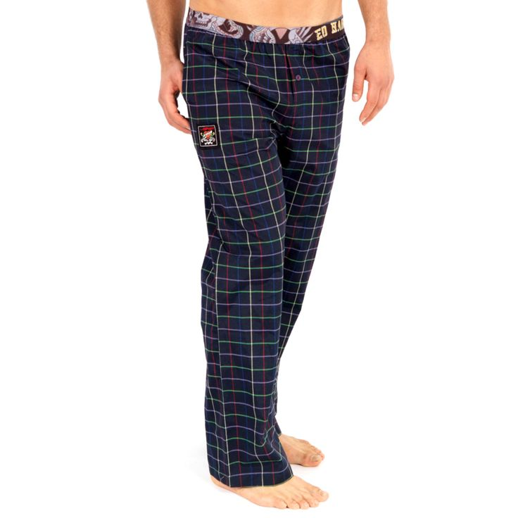 Ed Hardy Men's NYC Woven Sleep Pants – Navy