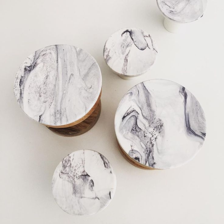 This marble effect was a special order we love how each one is so different!