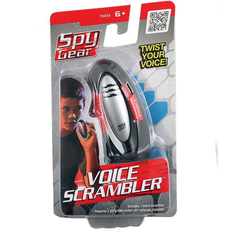 Spy Gear Voice Scrambler
