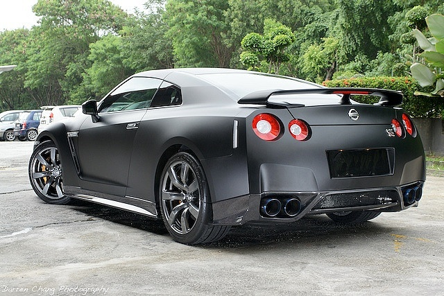 matt black nissan skyline r35 gtr 4 cars pinterest style nissan and cars. Black Bedroom Furniture Sets. Home Design Ideas
