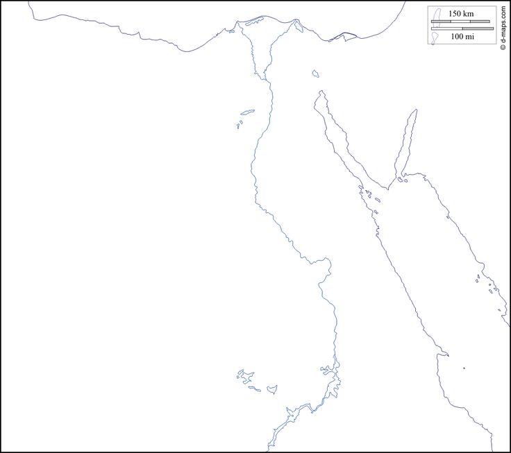 مجموعة خرائط صماء لجمهورية مصر العربية المعرفة الجغرافية كتب ومقالات في جميع فروع الجغرافيا Cartoon Coloring Pages Map Coloring Pages