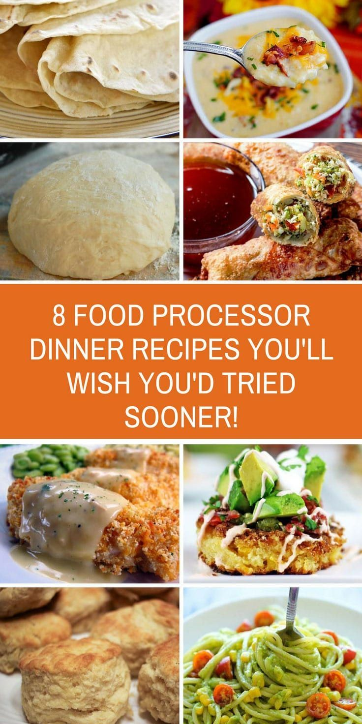 Food Processor Dinner Recipes Delicious And Easy To Make Food Processor Recipes Healthy Food Processor Recipes Dinner Food Processor Recipes