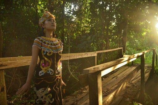 Dayak Kenyah - Kutai Kartanegara - Borneo  #jejakbudaya #kutaikartanegara