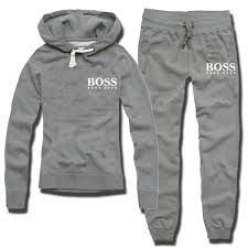 Image result for hugo boss tracksuit black and white