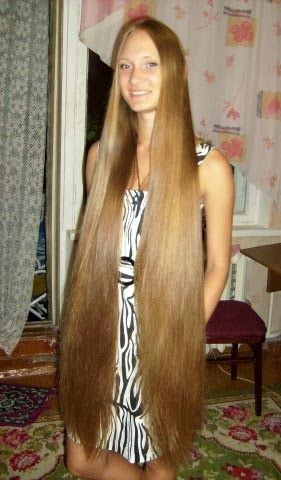 Long Haired Women Hall of Fame: Very long hair #11