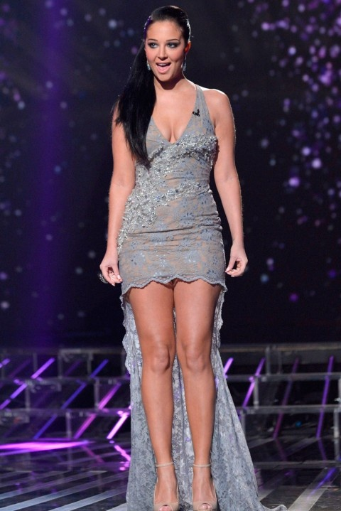 Worst Dressed of 2012 Slideshow -Tulisa Contostavlos on the X Factor 2012