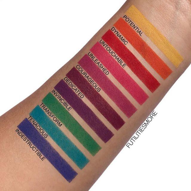 Makeup Geek Power Pigments Pictures And Swatches Futilities And More Makeup Geek Makeup Geek Swatches Makeup Geek Eyeshadow