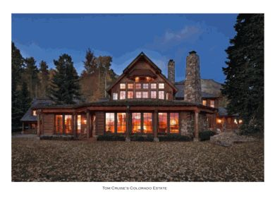 Tom Cruise's luxury lodge home and Colorado estate