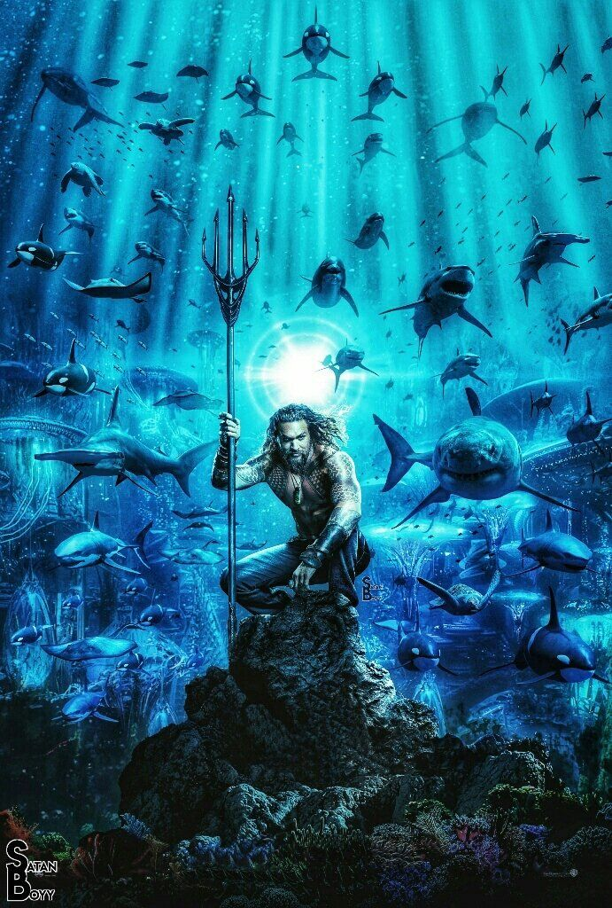Aquaman Textless Poster Twitter Search Aquaman