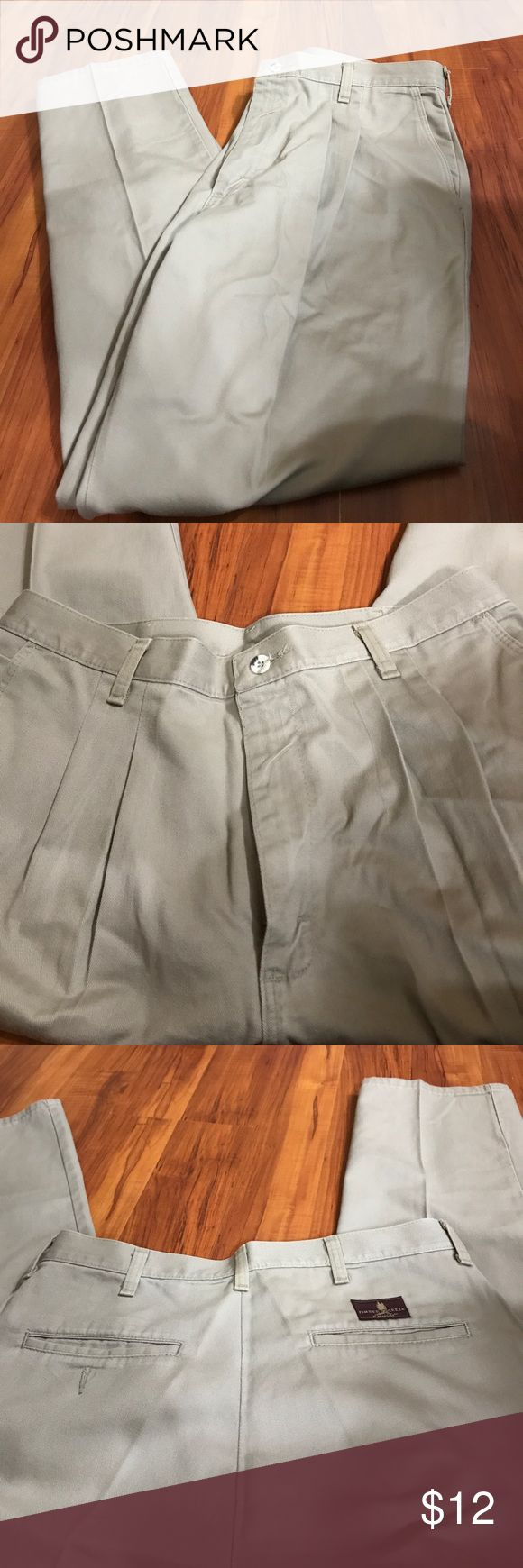 Timber Creek men's khaki pants Timber Creek men's khaki pants size 33/30 in good used condition. They are 100% cotton. Timber Creek Pants Chinos & Khakis