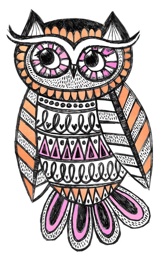 Fleur Harris - owl