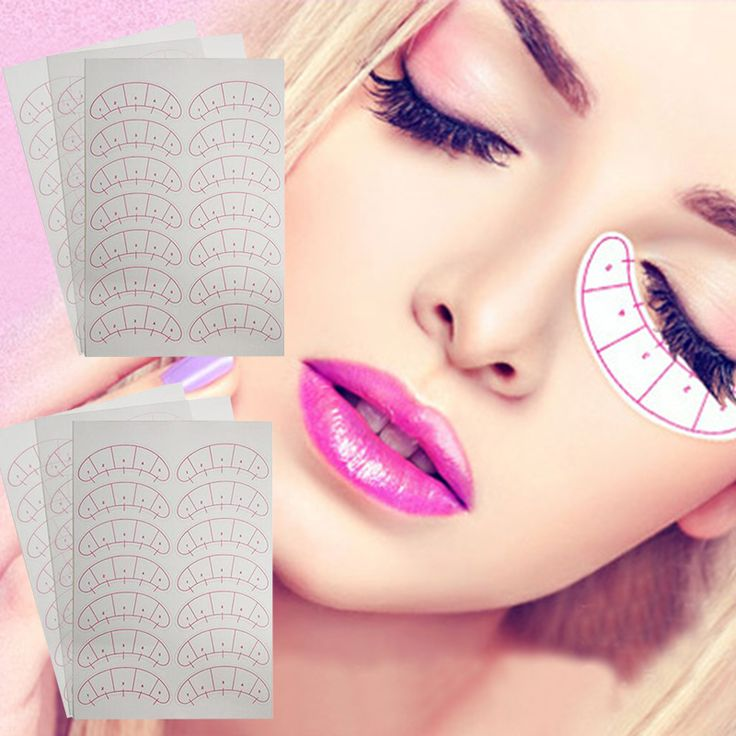 Under Eye Pads Paper Patches Eyelash Lash Eyelash Extension Paper Patches Eye Tips Sticker Wraps Make Up Tools