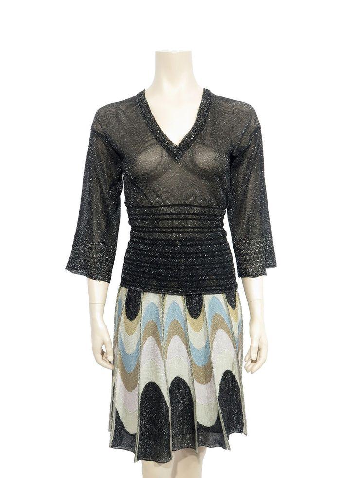 Missoni Shimmer Knit Sweater www.sabrinascloset.com