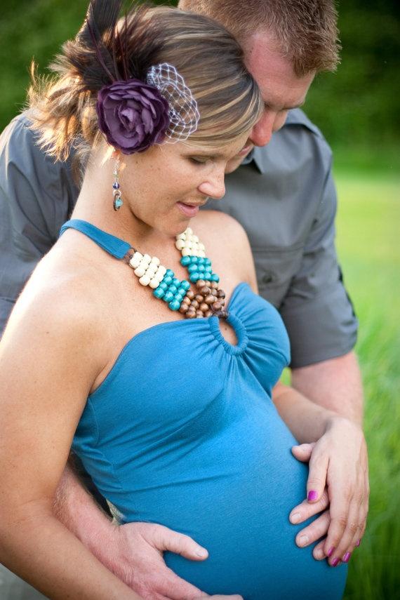 maternity couple