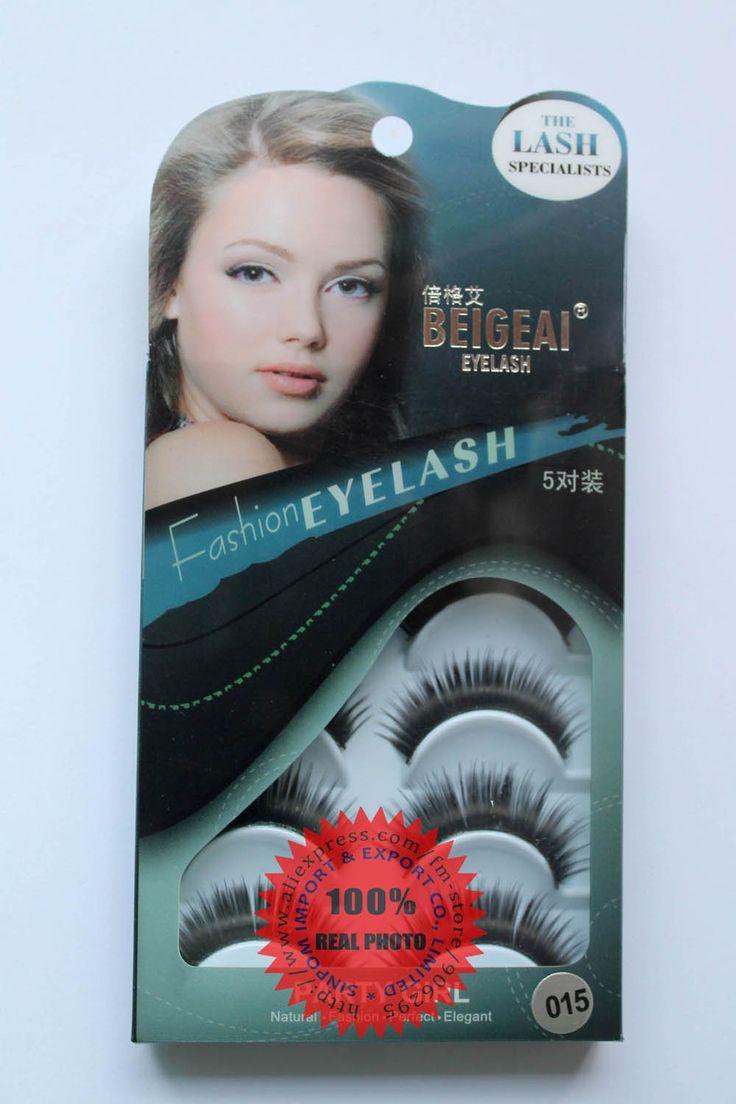 Ресницы оригинальный Beigeai 015 Накладные Ресницы ручной работы толстый глаз наращивание ресниц 5 пар в упаковке (50 пар/лот) бесплатная доставка