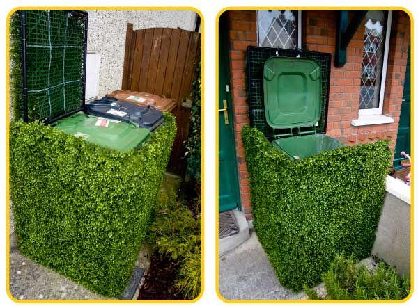 Grass bin cover