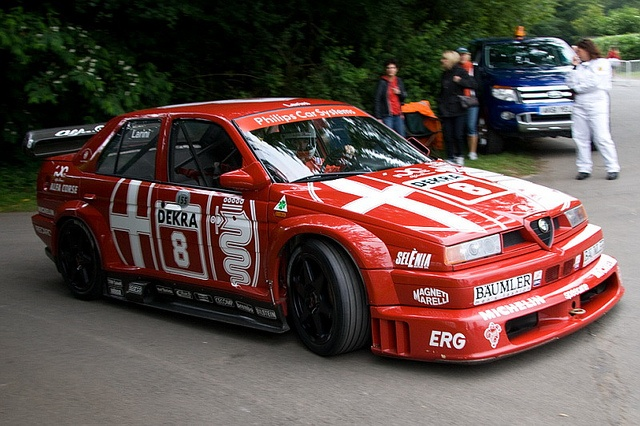 Alfa Romeo 155DTM at the 2012 Goodwood Festival of Speed.