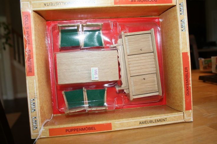 Vintage Lisa of Denmark Dining Room Set Mint in Box | eBay
