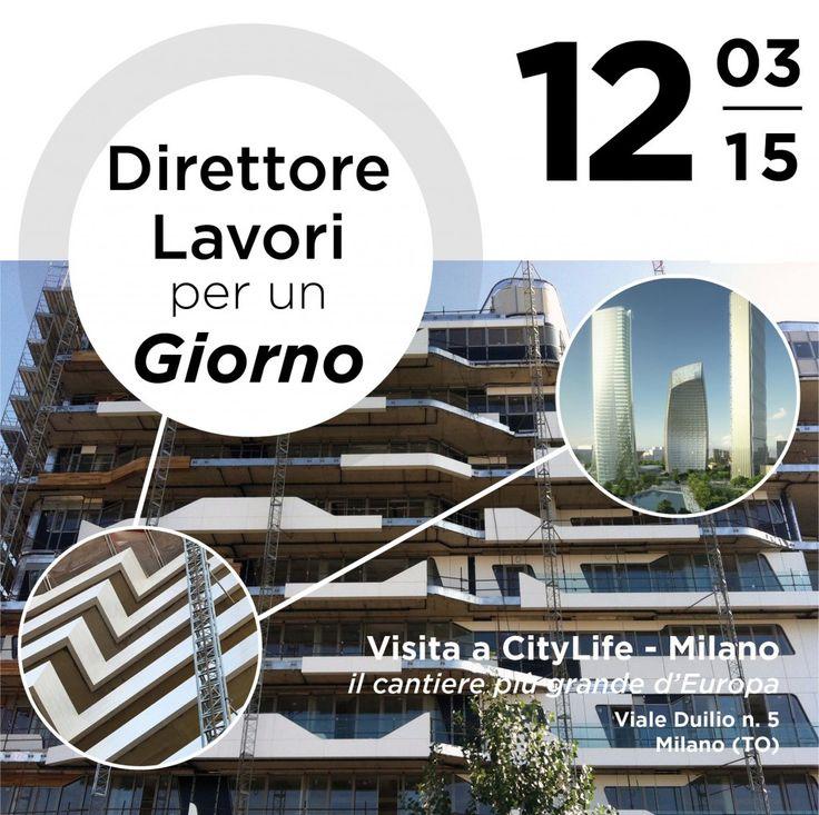 Archivio Eventi | Archie20 Direttore dei Lavori per un Giorno - #CityLife Milano