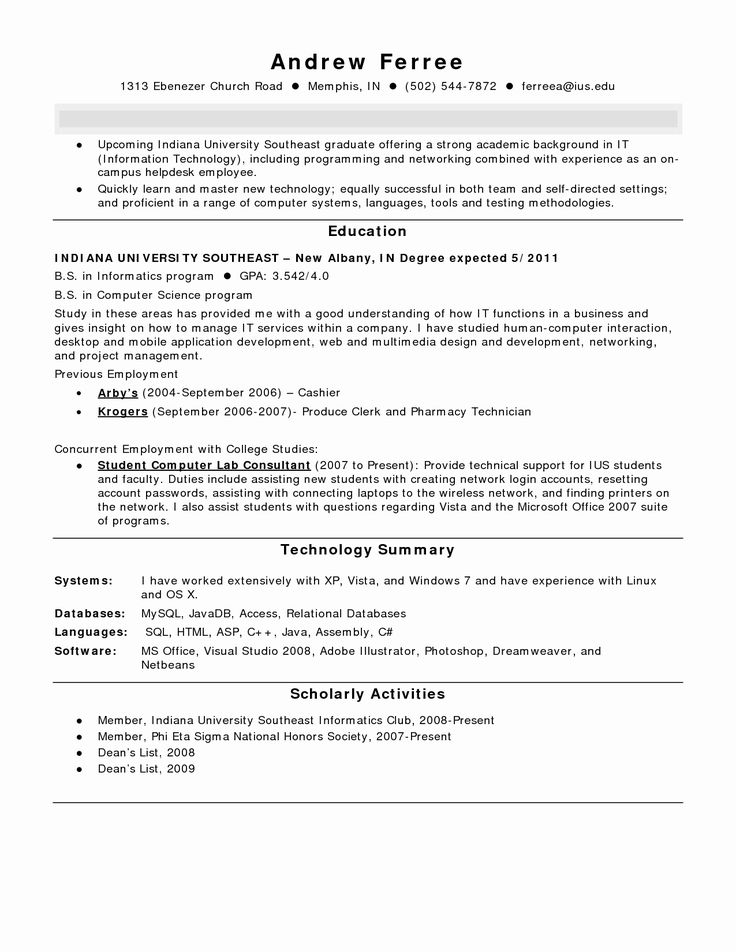 50 New Pharmacy Technician Resume Template in 2020 Cover