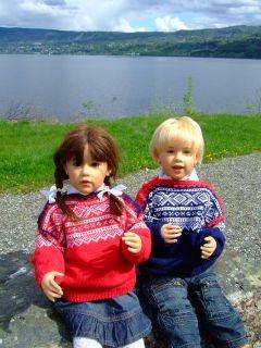 Sissel Skille's dolls are amazing!