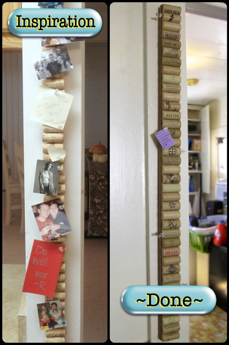Bohemomma Adventures 121 Vertical Synthetic Corkboard