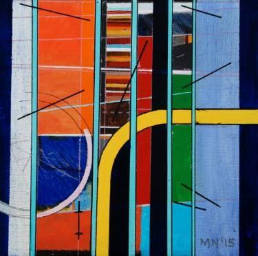 "Saatchi Art Artist Michael Newman; Painting, ""Kroma Zone"" #art"