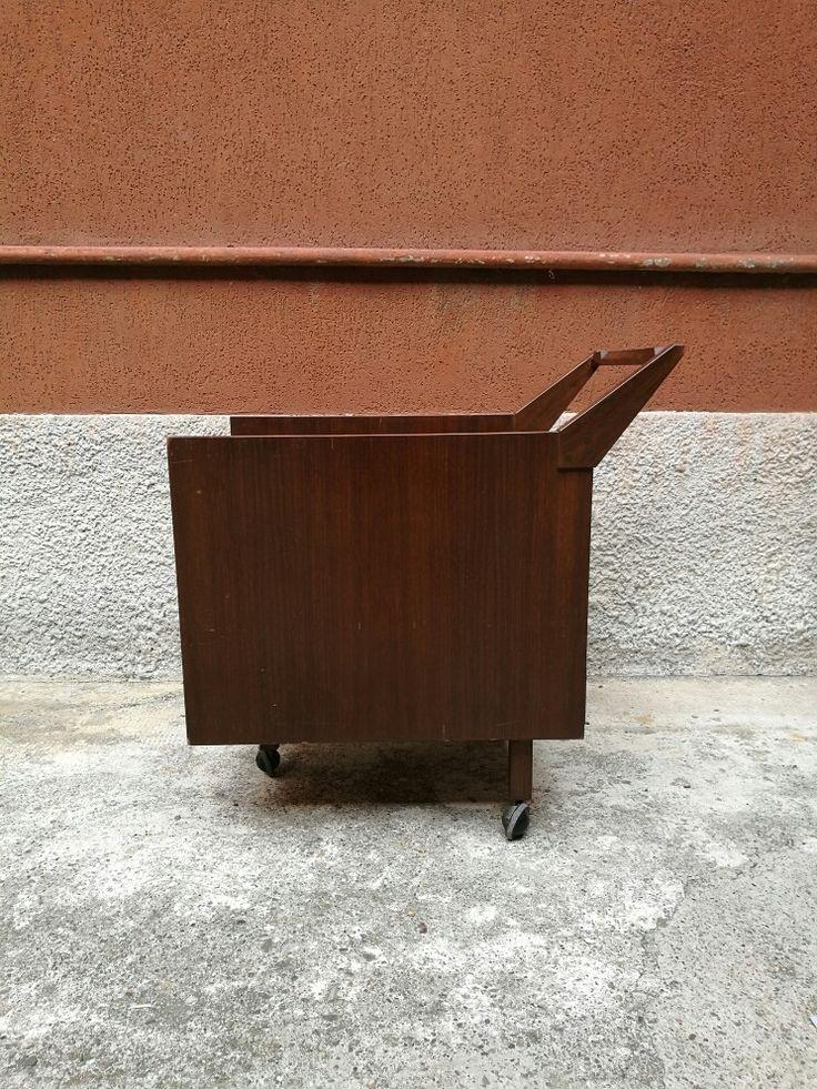 Cassettiera su ruote per scrivania Stadera. Poggi 1953 Franco Albini