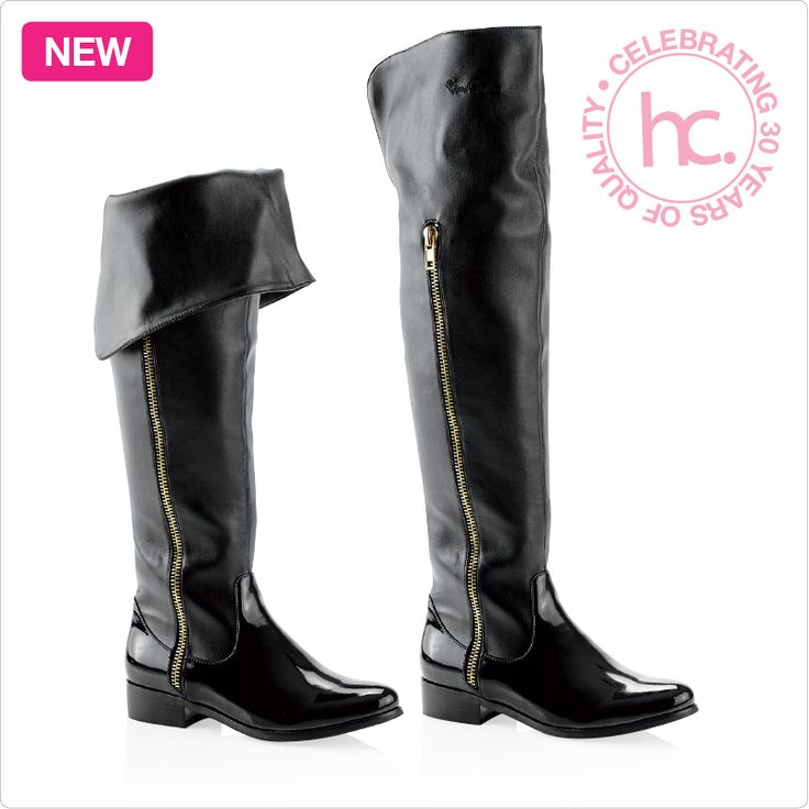 New Macayle knee boots Sizes: 4 - 8 Available in black From R899 cash or only R113 a month! Shop now >> http://www.homechoice.co.za/Fashion/Shoes/Macayle.aspx