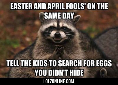 Easter And April Fools' On The Same Day...#funny #lol #lolzonline