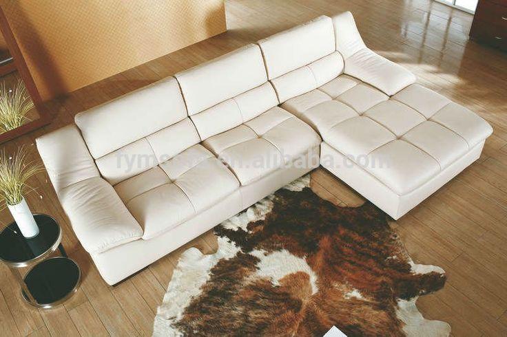 Indio muebles de interior de cuero blanco sofá seccional moderno-imagen-Sofás para la Sala de Estar-Identificación del producto:60492702757-spanish.alibaba.com