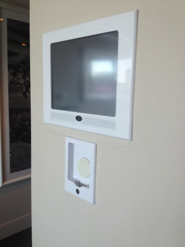 iPort IW-21 in-wall iOS Dock Install at HardRock Hotel HRH tower in Las Vegas, NV.
