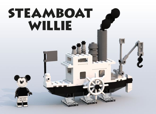 "The 1928 classic Disney cartoon ""Steamboat Willie"" was also a historic milestone as it was the first cartoon to include sound.  Now, some 88 years later, this whimsical watercraft is attempting to ..."