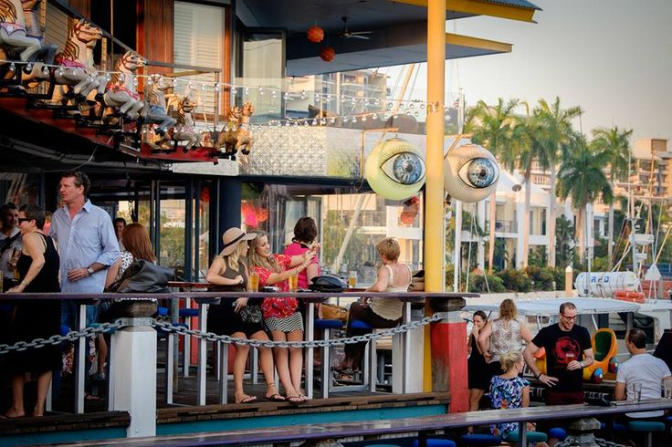"""Lola's Pergola, Cullen Bay. From their Facebook page June 2015: """"Doors are open and we have done 20 burgers already. There is 16 to choose from and they are the best in Darwin"""""""