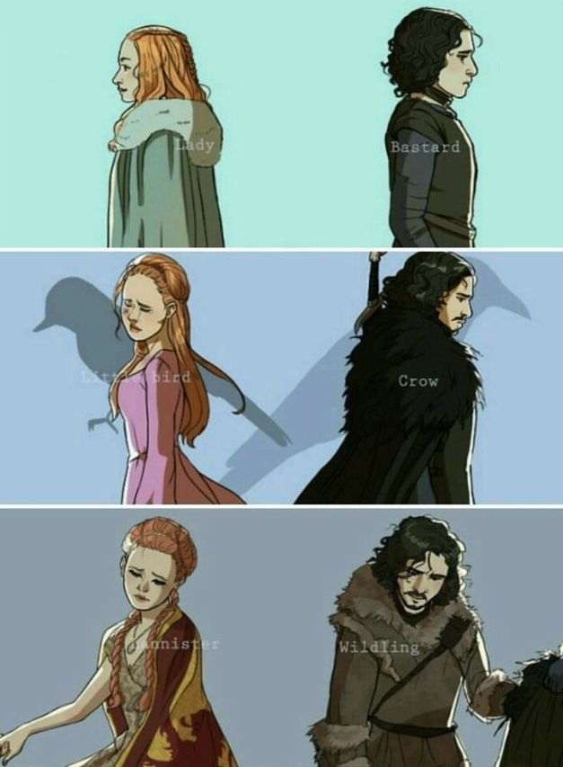 (1/3) Jon and Sansa have spent most of their journey surrounded by strangers, until now.