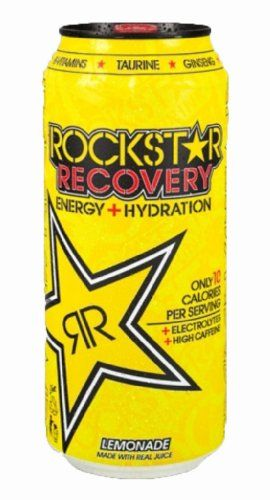 Rockstar Energy Drink, Recovery, 16 Ounce (Pack « Blast Grocery