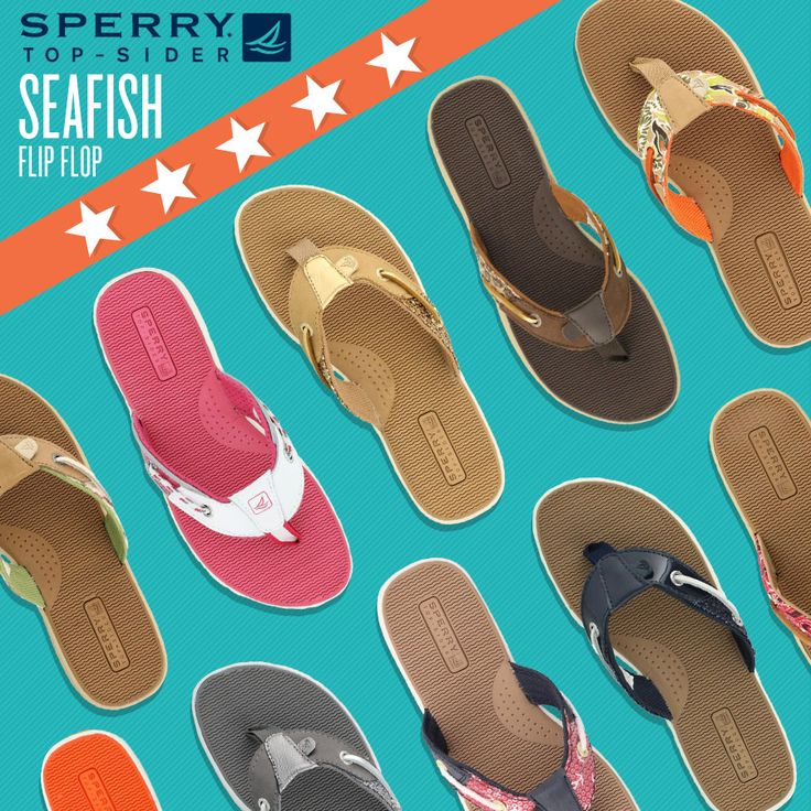 Women's Sperry, Seafish Nautical Style Thong Sandal - A Sporty Slip On Thong Sandal With Bluefish Inspired Accents. Rated 5 Stars by MOJO and Raleigh1