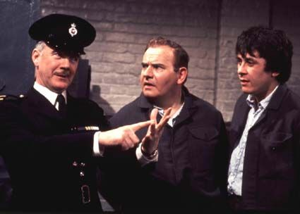 Fulton MacKay, Ronnie Barker and Richard Beckinsale - Porridge