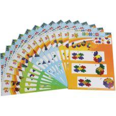 Clics Bouwkaarten: set van 15 kaarten