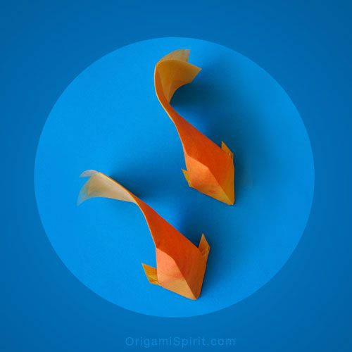 How to Make an Origami Goldfish - by Leyla Torres for Origami Spirit