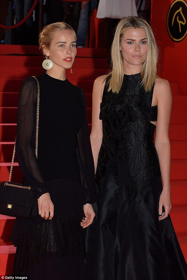 Isabel Lucas and Rachael Taylor - At the premiere of their film 'The Loft' @ the Gent Film Fest in Belgium.  (October 2014)