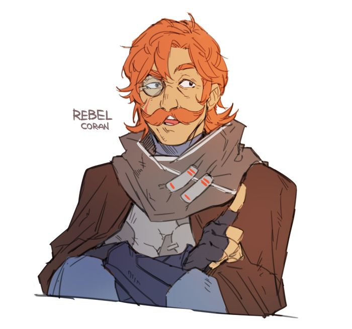 Coran as Rebel besause I just can't leave him Made for swap AU Paladins (x) Matt as Advisor (x)