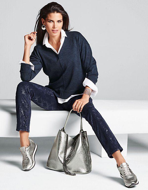 jumper madeleine fashion cool casual vetement mode. Black Bedroom Furniture Sets. Home Design Ideas