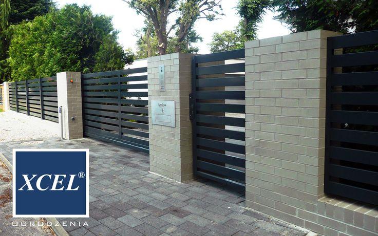 modern aluminium fencing horizon xcel berlin