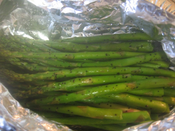 Asparagus Packets