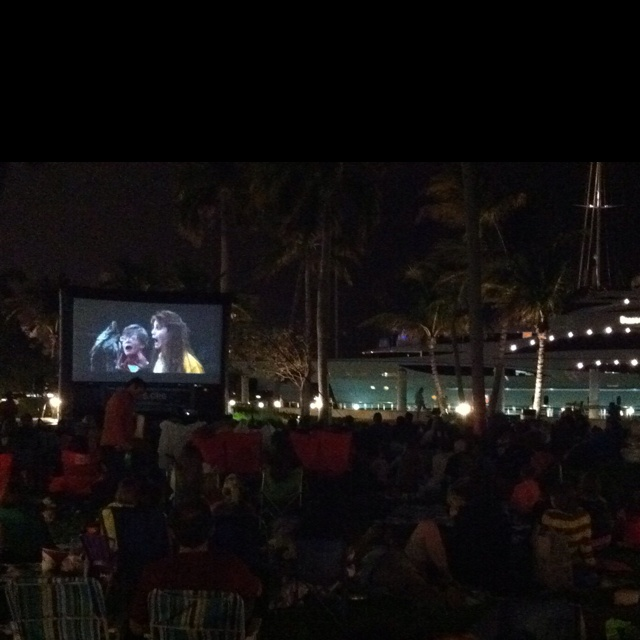 Friday night at the movies West Palm Beach style!