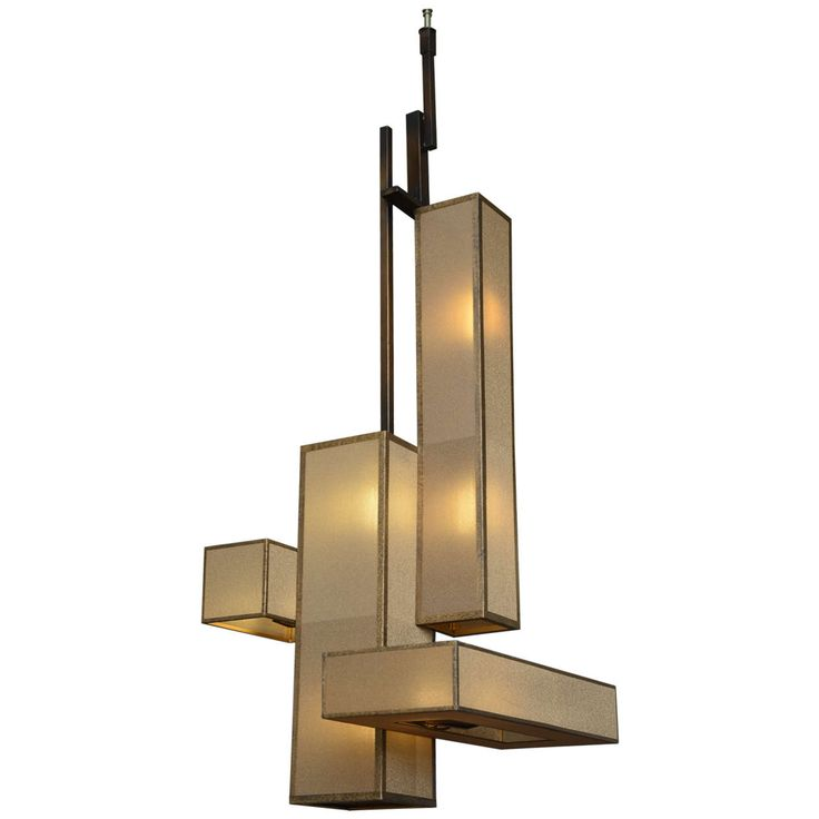 Large Italian Modern Patinated Brass and Glass Chandelier   From a unique  collection of antique and. 485 best light images on Pinterest   Ceiling lighting  Decorative