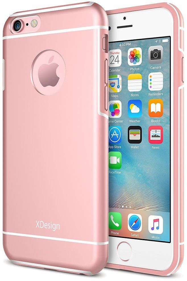 IPhone 6s Case, XDesign Inception Case [Apple Aluminum] TPU+PC [Triple Injected] Frame - Durable Stylish Protective Slim Case For Apple IPhone 6 / 6s (4.7 Inch) [Lifetime Warranty] - Rose Gold
